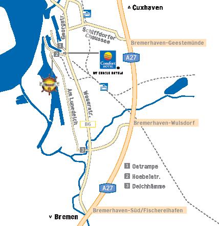 Anfahrt zum Nordseehotel